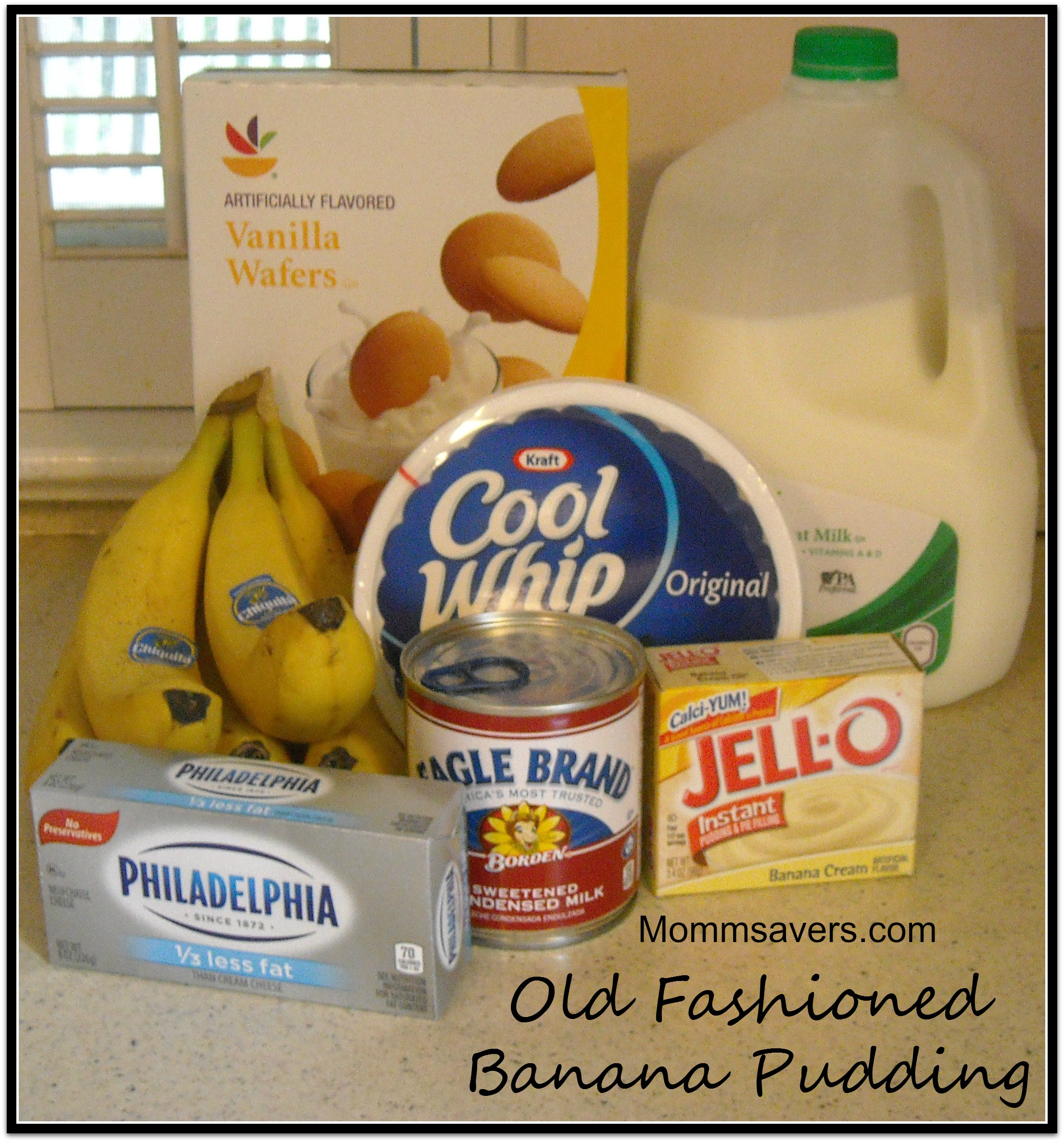Easy old fashioned banana pudding only 7 ingredients mommysavers