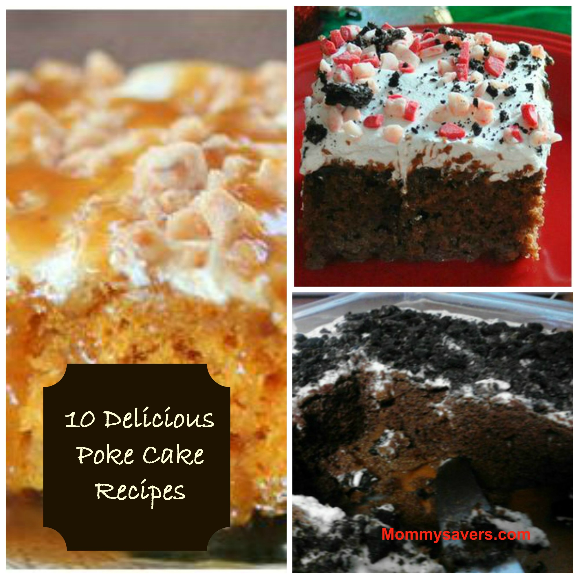Poke Cake Recipes - Mommysavers