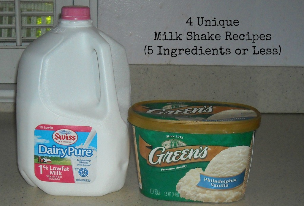Unique Milk Shake Recipes