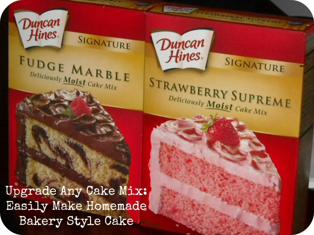 Upgrade Cake Mix
