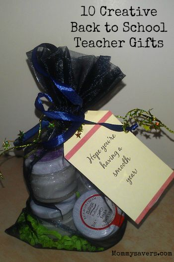 10 Creative Back to School Teacher Gifts