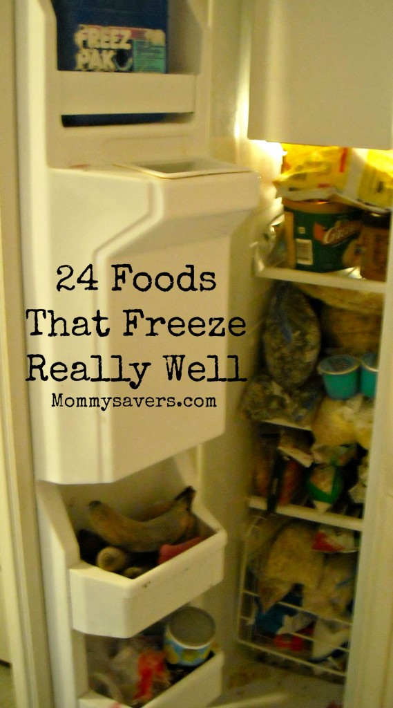 24 Foods That Freeze Well