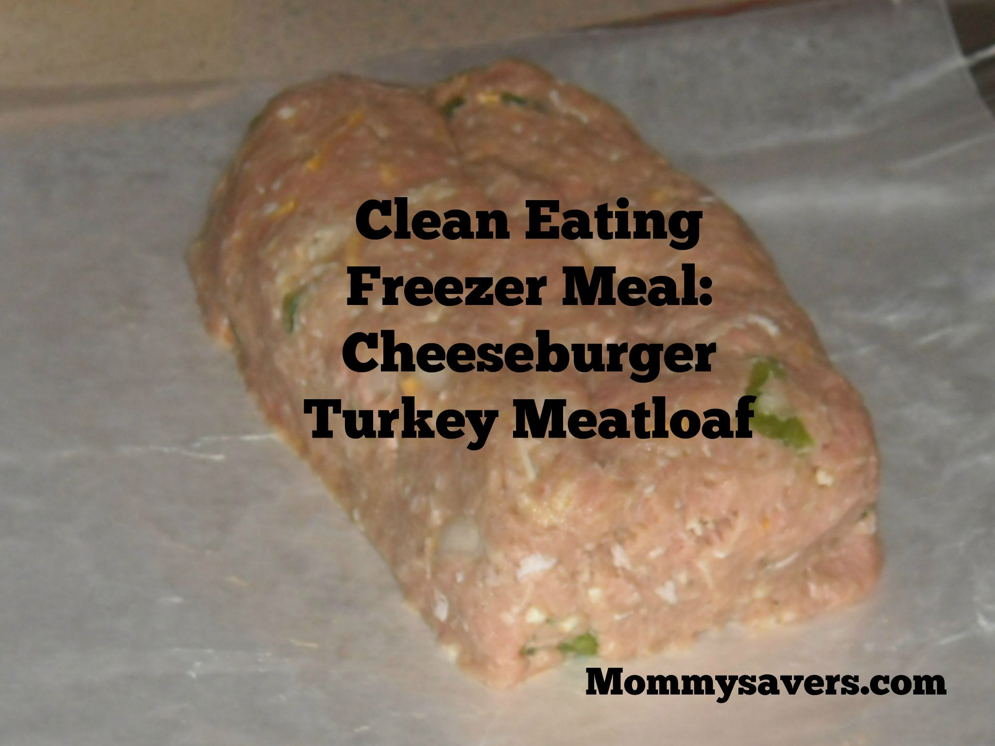 Clean Eating Cheeseburger Meatloaf