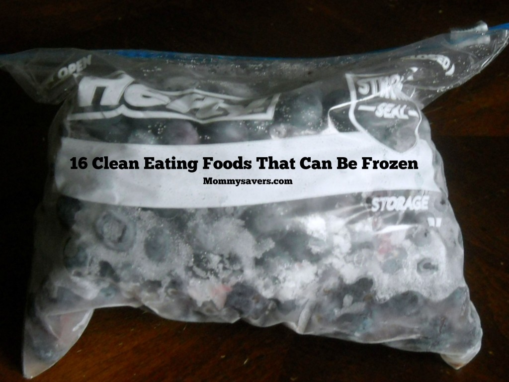 Clean Eating Foods That Can Be Frozen