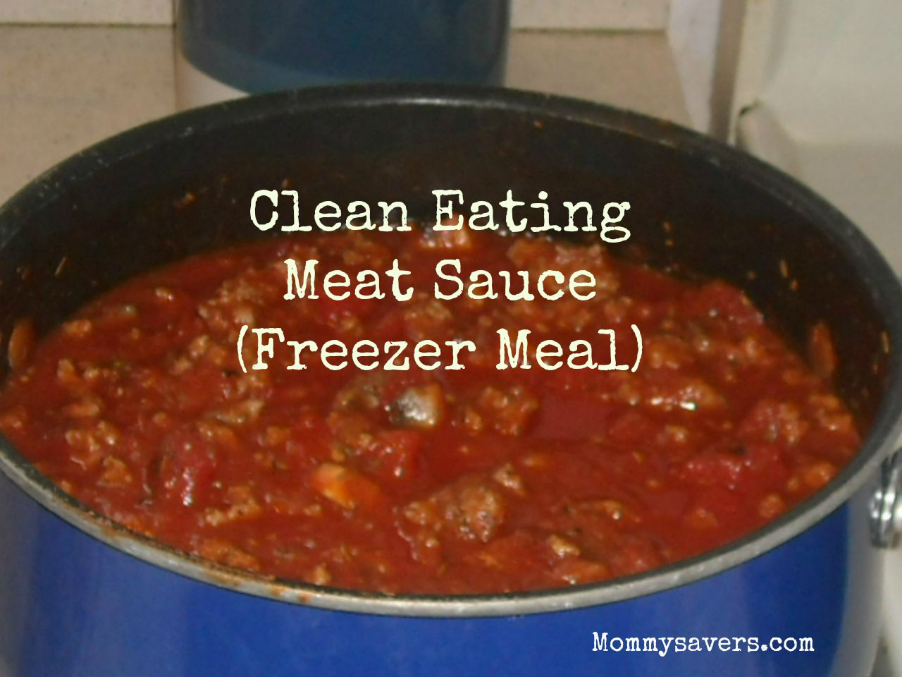 Clean Eating Meat Sauce