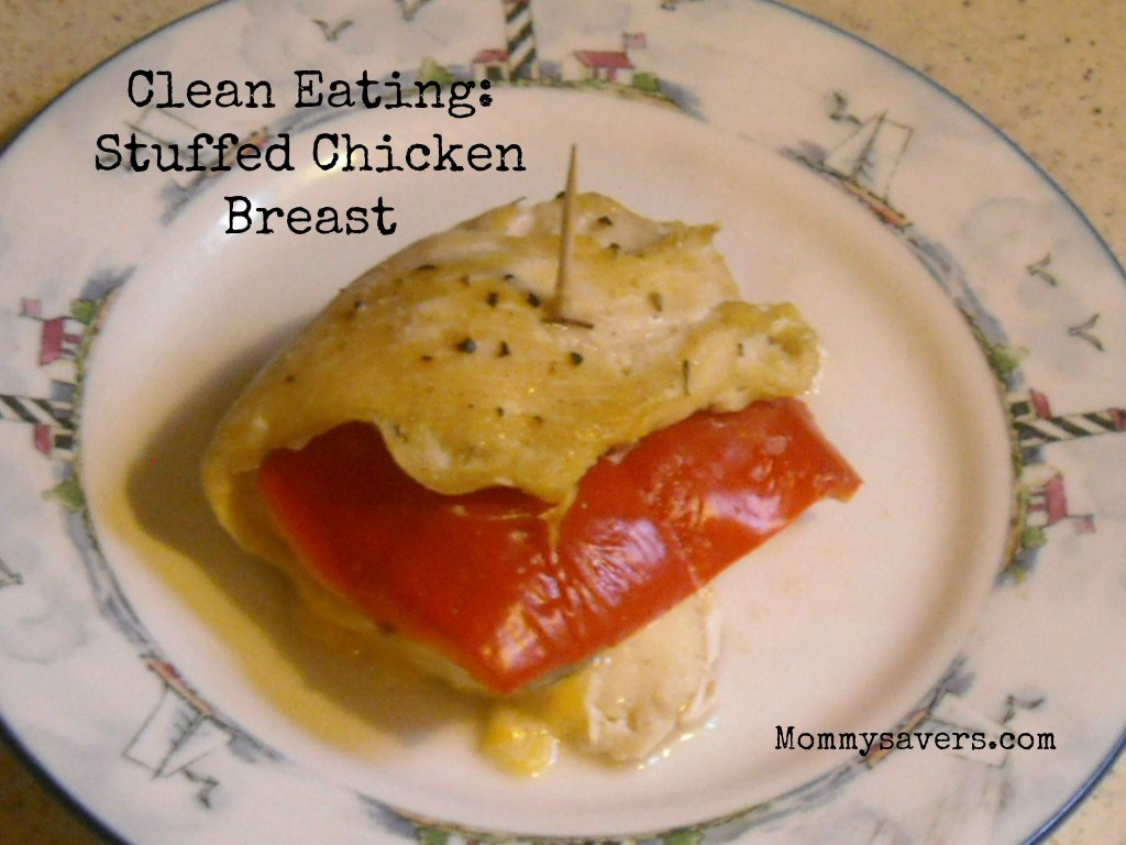 Clean Eating Stuffed Chicken Breast