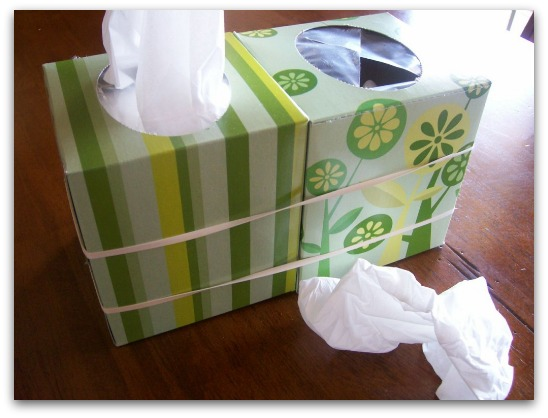 Tissue Box Set Up