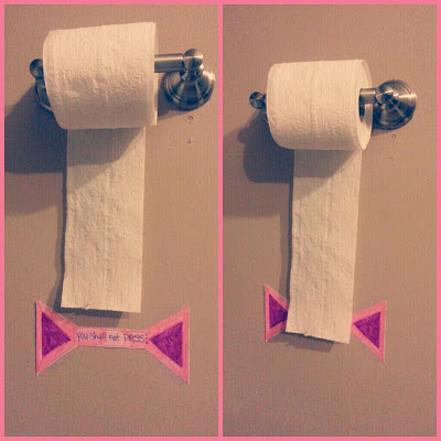 Toilet Paper and Potty Training
