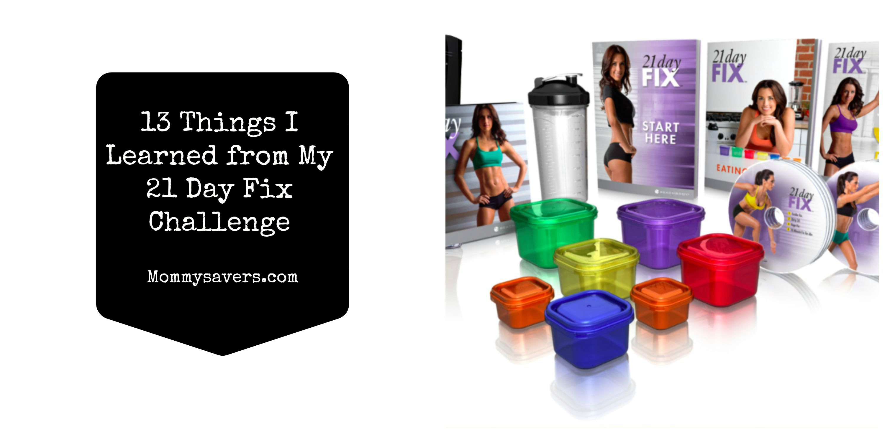 21 Day Fix Collage