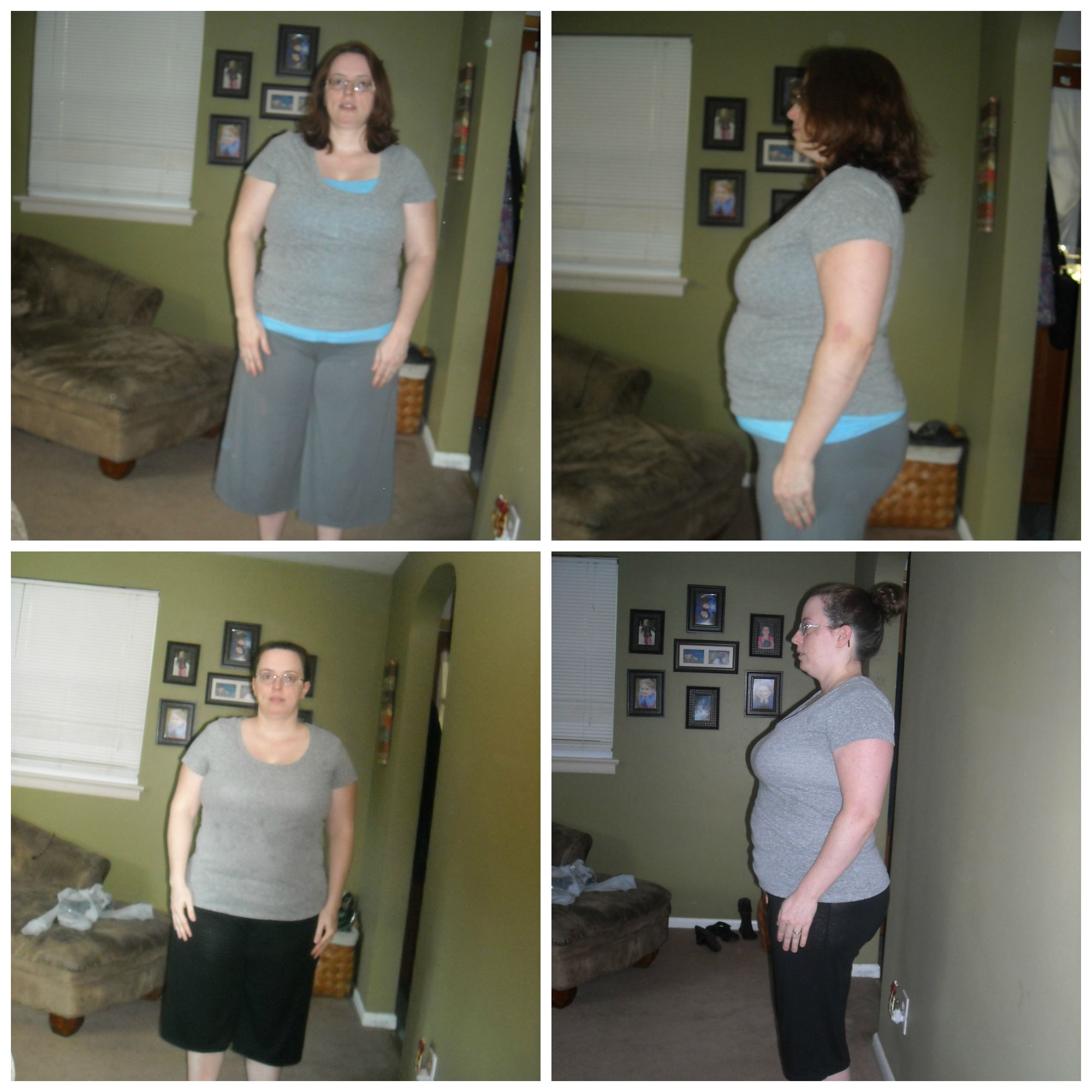 21 Day Fix Round One Before and After