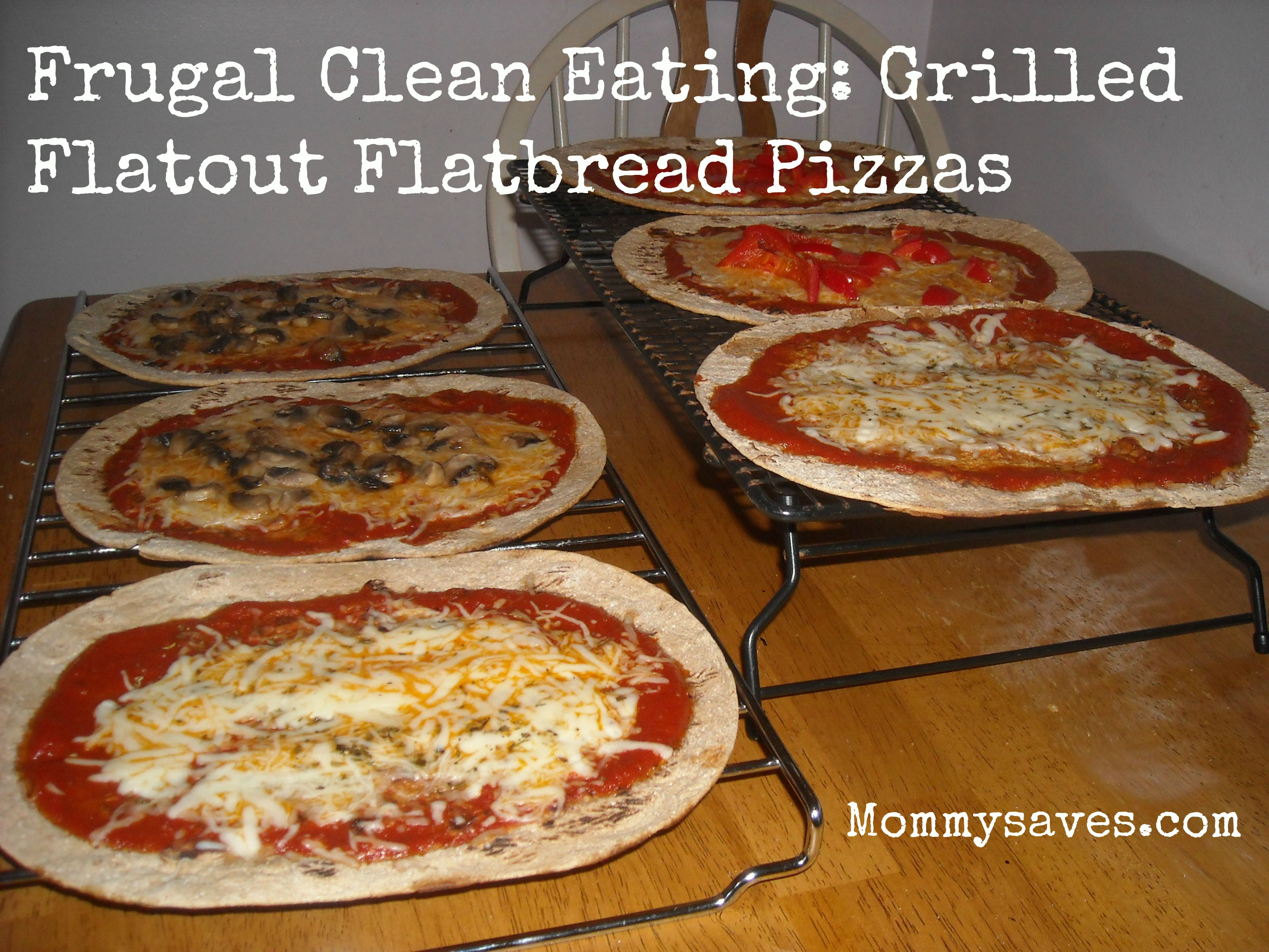 Clean Eating Flatbread Pizzas