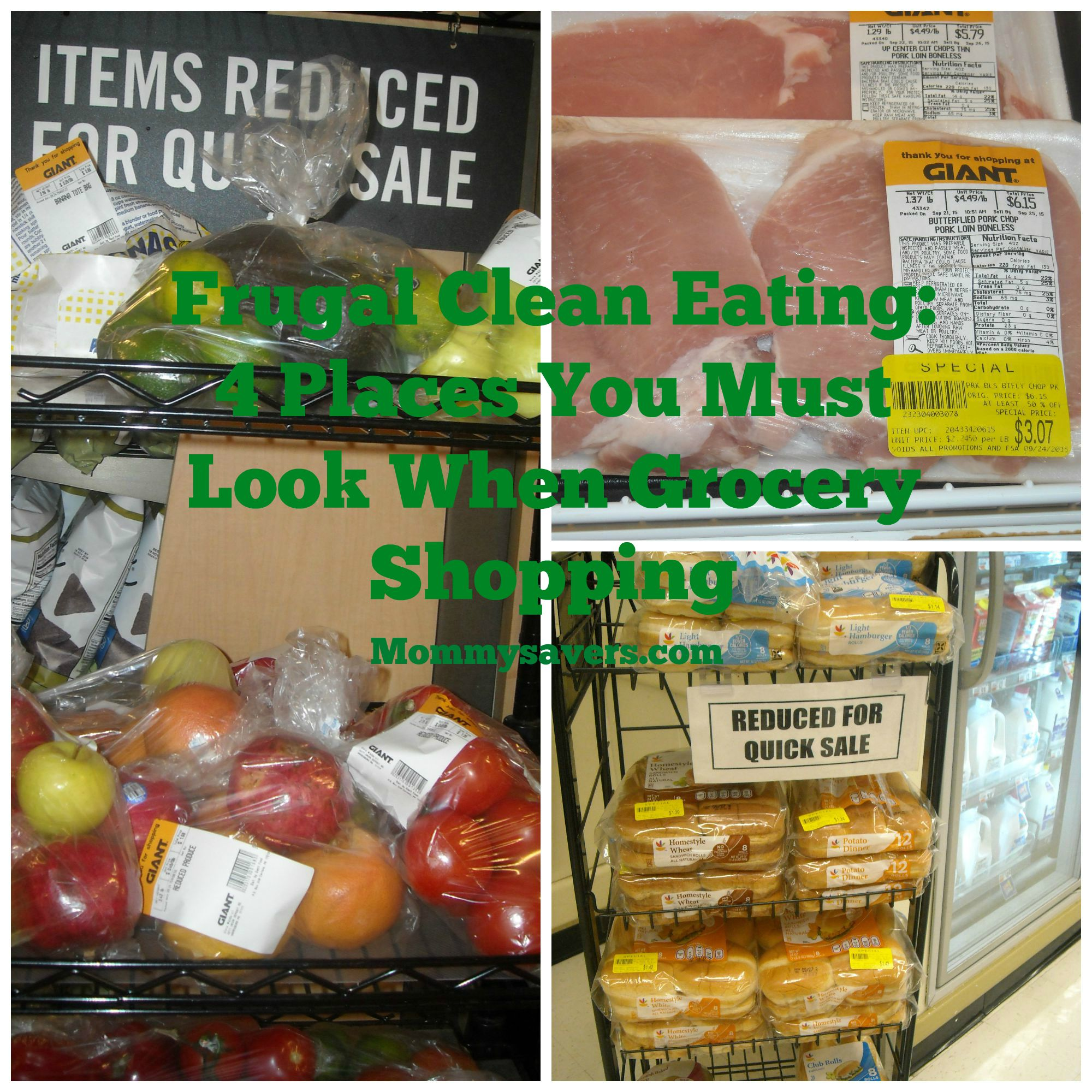 Frugal Clean Eating Grocery Store
