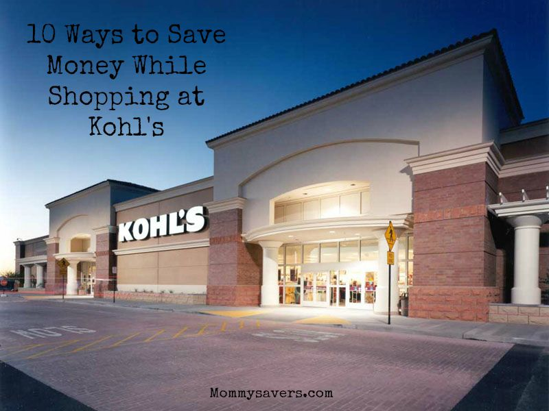 Kohl's Shopping Tips