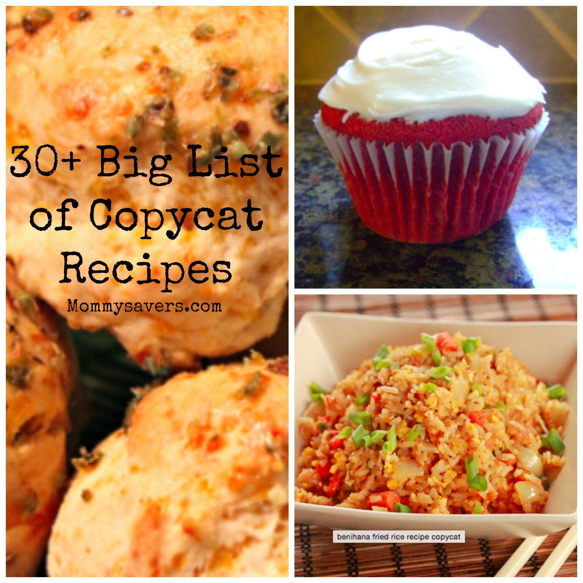 30+ Copycat Recipes